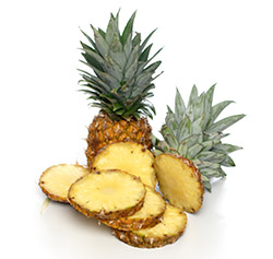 Pineapples are good for whitening teeth naturally