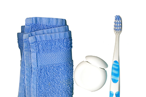Dental Floss and Tooth Brush